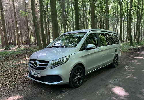 Mercedes-Benz Marco Polo set fra siden