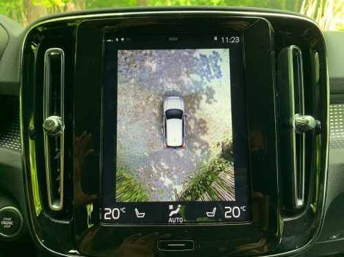 Volvo XC40 ReCharge bakkamera