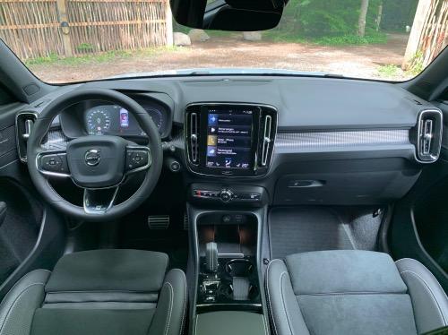 Volvo XC40 ReCharge kabine