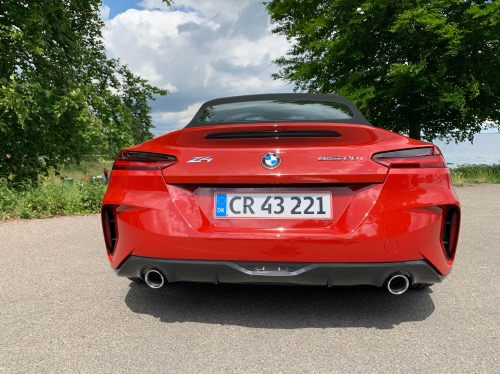 BMW Z4 bag fra