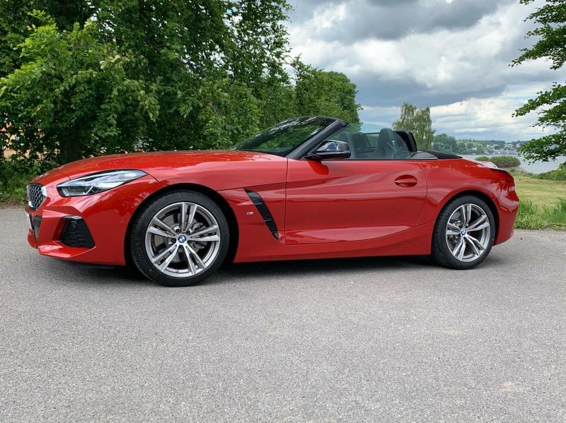 BMW Z4 teaserbillede