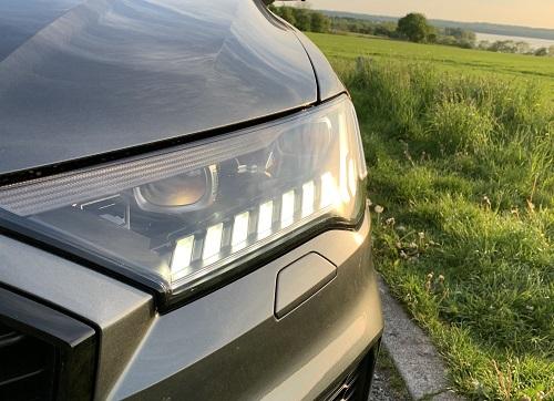 Audi Q7 forlygter