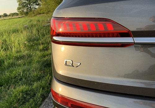 Audi Q7 baglygter