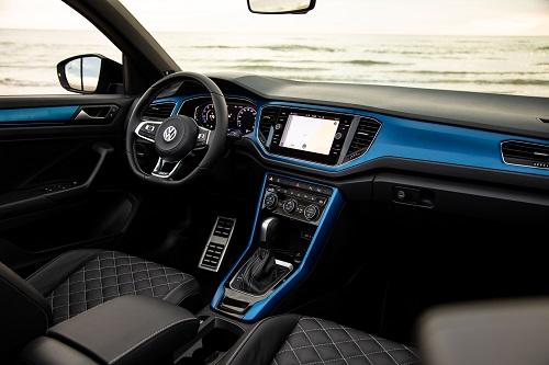 VW T-roc cabriolet kabine