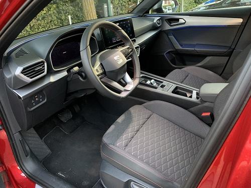 Seat Leon kabine
