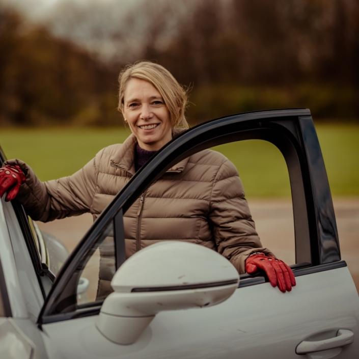 Biltester Karen Juhl