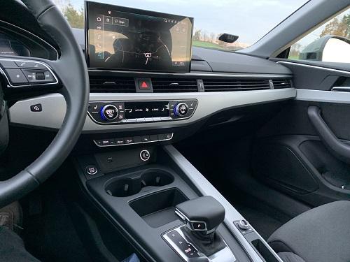 Audi A5 Sportback midterkonsol