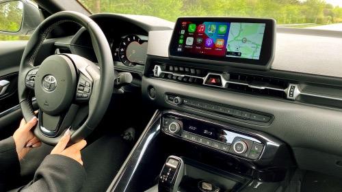 Toyota GR Supra's interiør minder om BMW Z4