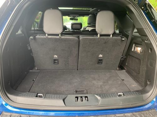 Alle sæderne kan lægges ned i Ford Explorer