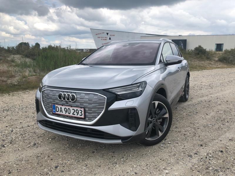Audi e-trons lillebror Q4 e-tron