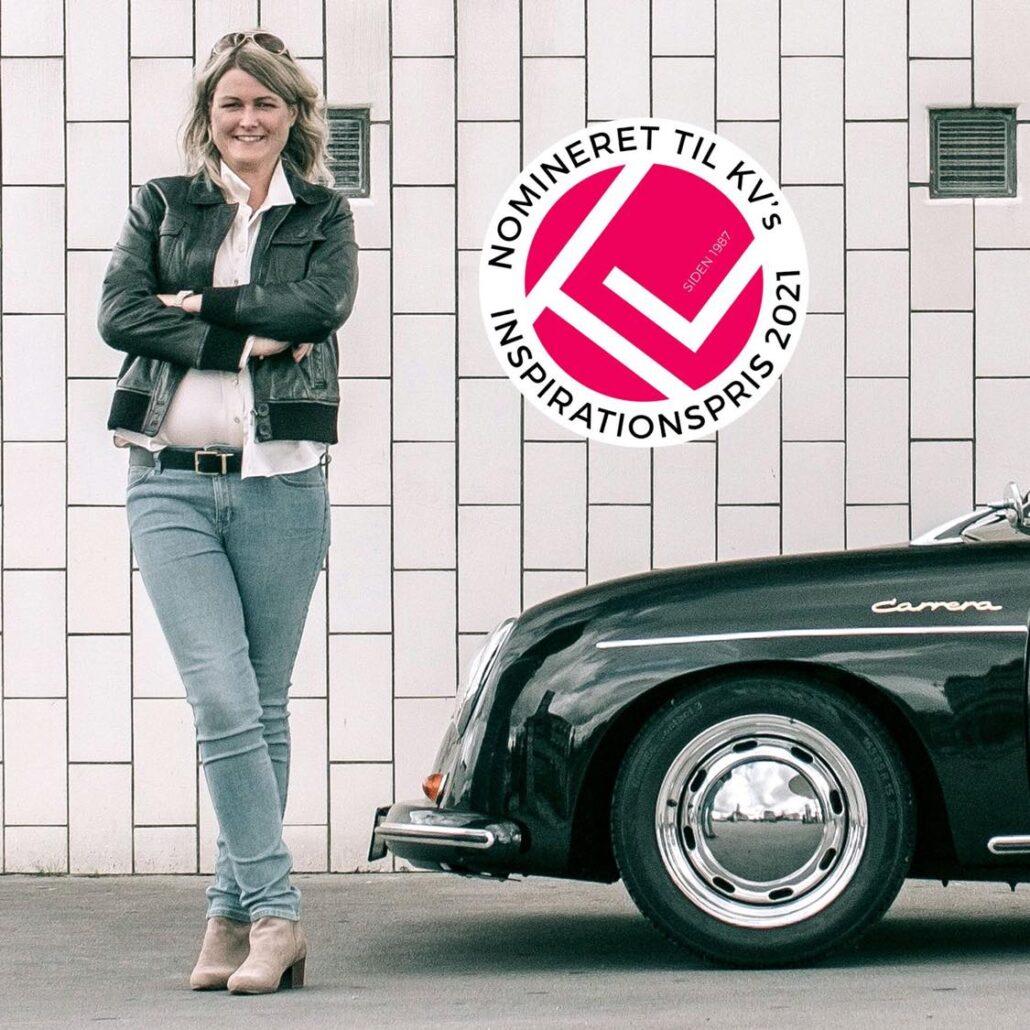 Benedicte Engel har modtaget KV's inspirationspris 2021